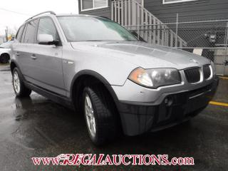 Used 2006 BMW X3  4D UTILITY 2.5I for sale in Calgary, AB