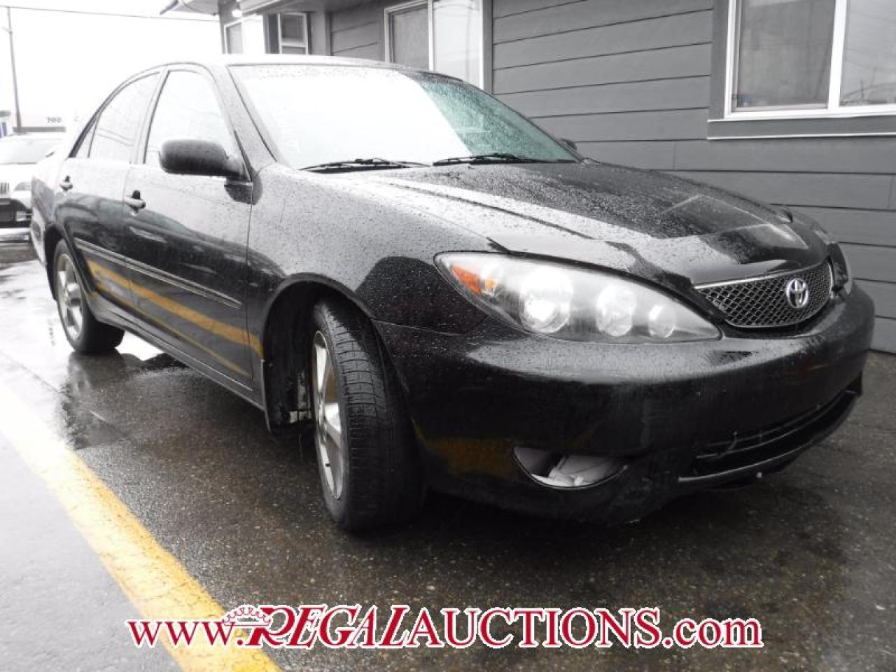 Photo of Black 2005 Toyota CAMRY SE 4D SEDAN V6