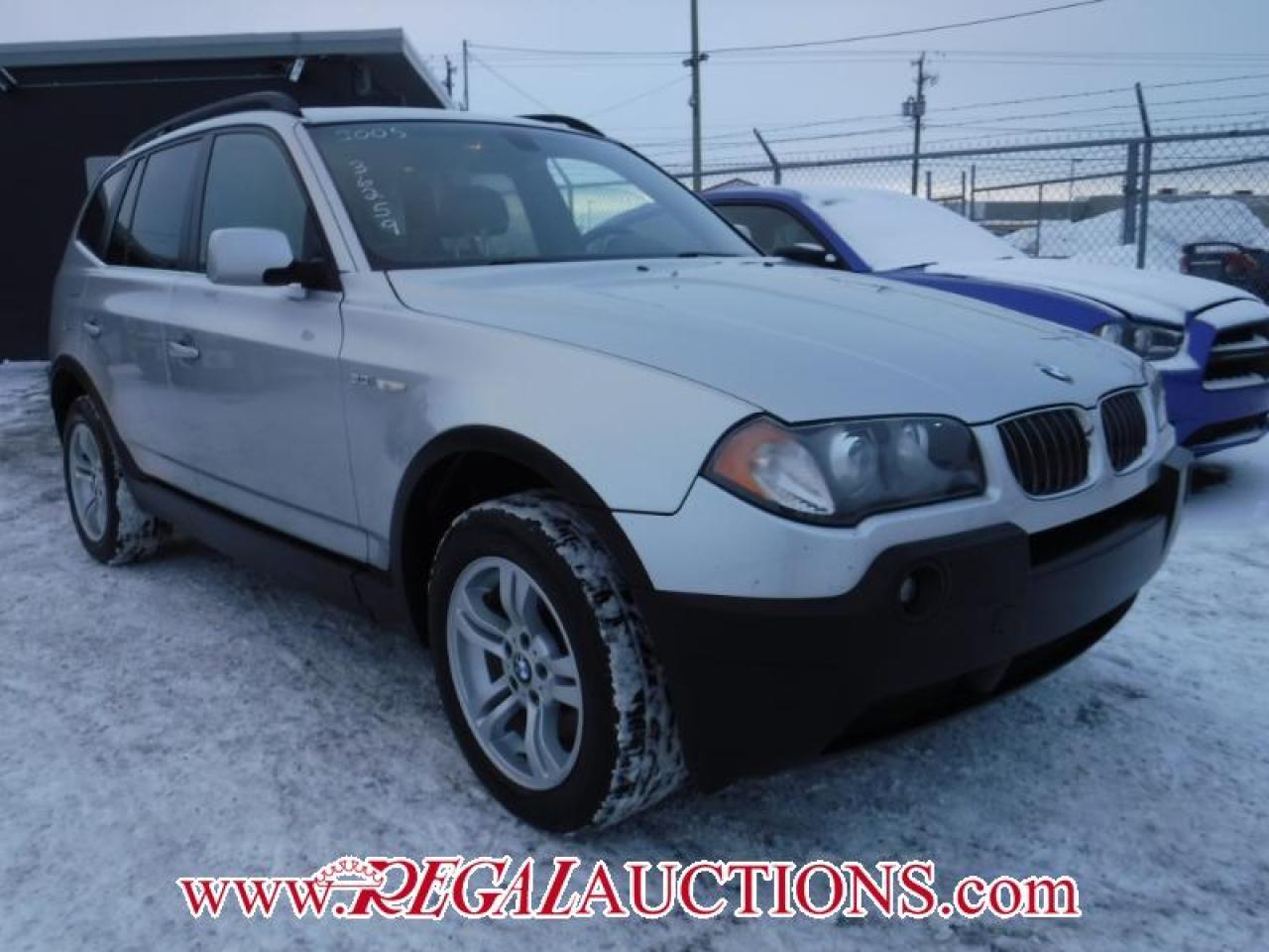 Photo of Silver 2005 BMW X3  4D UTILITY AWD