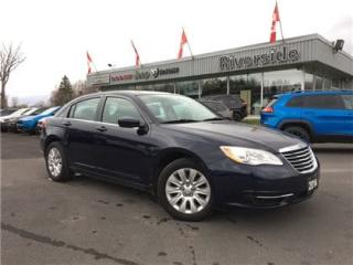 Used 2014 Chrysler 200 LX for sale in Cornwall, ON