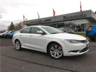 Used 2015 Chrysler 200 Limited for sale in Cornwall, ON
