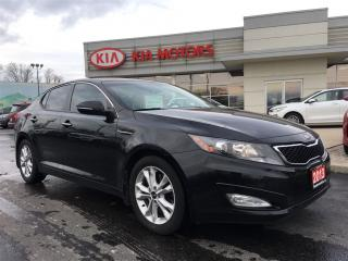 Used 2013 Kia Optima EX Turbo FRESH TRADE! for sale in Woodstock, ON
