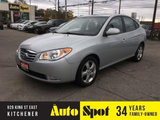 Used 2010 Hyundai Elantra GLS/LOW, LOW KMS!/LEATHER-MOONROOF! for sale in Kitchener, ON