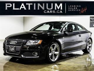 Used 2011 Audi A5 2.0T QUATTRO, PREMIUM PLUS, NAVI, LEATHER for sale in North York, ON