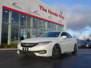 Used 2016 Honda Accord Coupe Touring V6 for sale in Abbotsford, BC