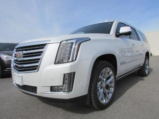 Used 2017 Cadillac Escalade ESV PLATINUM for sale in Arnprior, ON