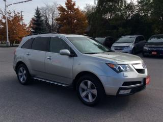 Used 2011 Acura MDX Leather..Sunroof..AWD for sale in Milton, ON