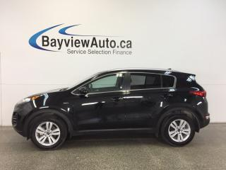Used 2017 Kia Sportage LX- AWD|HTD STS|REV CAM|BLUETOOTH|PWR LIFTGATE! for sale in Belleville, ON