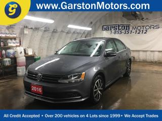 Used 2016 Volkswagen Jetta COMFORTLINE*TSI*POWER SUNROOF*PHONE CONNECT*BACK UP CAMERA*HEATED FRONT SEATS*DUAL ZONE CLIMATE CONTROL*CRUISE CONTROL*ALLOYS* for sale in Cambridge, ON