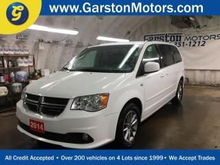 Used 2014 Dodge Grand Caravan 30TH ANNIVERSARY*GARMIN NAVIGATION*PARK-VIEW BACK UP CAMERA*LEATHER*POWER SLIDING DOORS/REAR LIFT GATE/POWER PEDALS*DUAL ROW STOW N GO*TRI ZONE CLIMAT for sale in Cambridge, ON