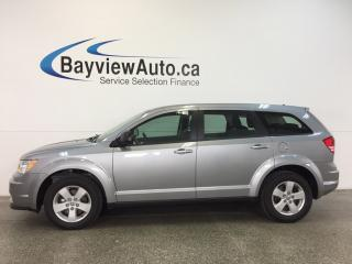 Used 2017 Dodge Journey SE- ALLOYS|PUSH BTN STRT|3 ZONE CLIMATE|CRUISE! for sale in Belleville, ON