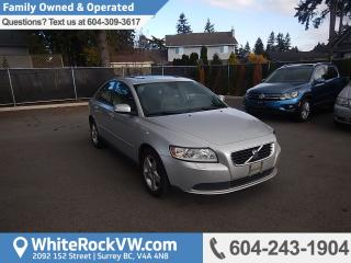 Used 2008 Volvo S40 2.4i Leather Seats, Remote Keyless Entry & Radio Data System for sale in Surrey, BC