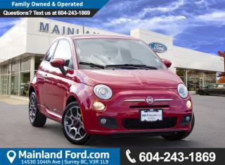 Used 2012 Fiat 500 Sport LOW KMS, LOCAL for sale in Surrey, BC