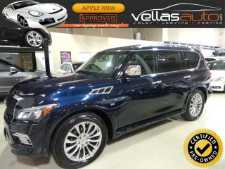 Used 2017 Infiniti QX80 AWD| TECHNOLOGY PKG| 7 PASSENGER for sale in Vaughan, ON
