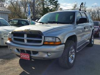 Used 2003 Dodge Durango R/T.certified,LOW KMS! for sale in Oshawa, ON