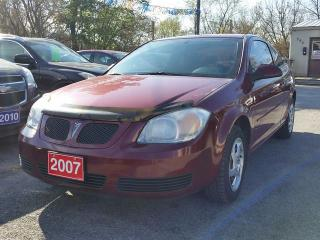 Used 2007 Pontiac G5 SE w/1SA..certifed for sale in Oshawa, ON