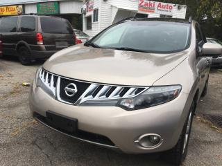 Used 2009 Nissan Murano SL Safety and E Test is Included The Price. for sale in Scarborough, ON