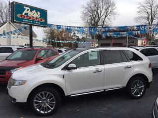 Used 2015 Lincoln MKX AWD for sale in Dunnville, ON