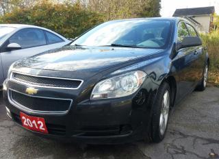 Used 2012 Chevrolet Malibu for sale in Orillia, ON