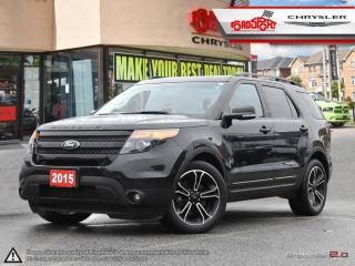 Used 2015 Ford Explorer SPORT 7 PASS NAVI BLK WHEELS REMOTE START H-TED for sale in Scarborough, ON