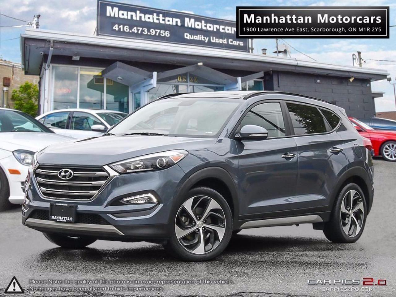 2017 Hyundai Tucson LIMITED 1.6T AWD  PANO CAMERA LEATHER B.SPOT