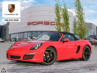 Used 2014 Porsche Boxster CERTIFIED PRE-OWNED   Manual   Convenience PKG   Infotainment PKG for sale in Edmonton, AB