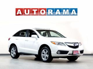 Used 2015 Acura RDX TECH PKG NAVIGATION LEATHER SUNROOF BACKUP CAM 4WD for sale in North York, ON