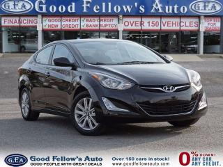 Used 2016 Hyundai Elantra SPORT, SUNROOF, ALLOY, REARVIEW CAMERA for sale in North York, ON