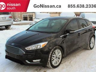 Used 2015 Ford Focus TITANIUM: LEATHER, SUNROOF, HEATED SEATS for sale in Edmonton, AB