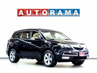 Used 2012 Acura MDX TECH PKG NAVIGATION LEATHER SUNROOF 4WD 7 PASS for sale in North York, ON