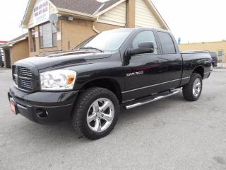 Used 2007 Dodge Ram 1500 SPORT Crew Cab 4X4 5.7L V8 HEMI Certified for sale in Etobicoke, ON