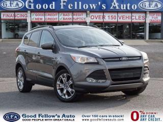 Used 2014 Ford Escape SE MODEL, PANORAMAROOF, 2.0 L ECOBOOST,FWD,LEATHER for sale in North York, ON