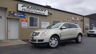 Used 2013 Cadillac SRX FACTORY WARRANTY-REMOTE START-TOUCH SCREEN for sale in Tilbury, ON