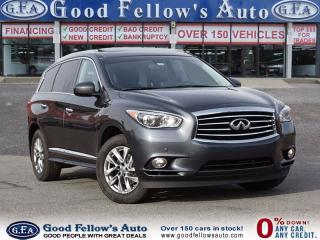Used 2014 Infiniti QX60 6CYL 3.5 LITER, 4WD, 7 PASSENGER, LEATHER SEATS, for sale in North York, ON