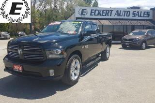 Used 2014 RAM 1500 Sport QUAD CAB 4X4 for sale in Barrie, ON