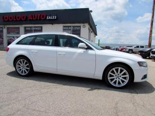 Used 2009 Audi A4 Avant 2.0T Quattro Wagon AWD Navigation Camera Certified for sale in Milton, ON