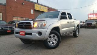 Used 2008 Toyota Tacoma V6,4X4, 4 DR, Manual, Alloy for sale in North York, ON