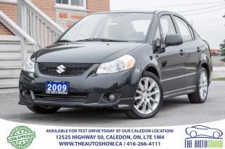 Used 2009 Suzuki SX4 Sport | HEATED SEAT | POWER GROUP | ALLOY RIMS for sale in Caledon, ON