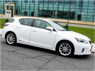 Used 2013 Lexus CT 200h TECH|NAVI|REARCAM|BLUETOOTH for sale in Scarborough, ON