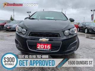 Used 2016 Chevrolet Sonic for sale in London, ON