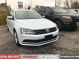 Used 2017 Volkswagen Jetta Wolfsburg | ONE OWNER | CAM | HEATED SEATS for sale in London, ON