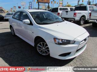 Used 2015 Mitsubishi Lancer SE | HEATED SEATS | BLUETOOTH for sale in London, ON