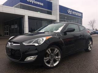 Used 2012 Hyundai Veloster 6sp Tech package including Navigation and Sunroof! for sale in Barrie, ON