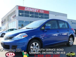 Used 2012 Nissan Versa 1.8...GO WHEREVER AND NEVER GET LOST!!! for sale in Grimsby, ON
