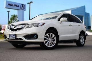 Used 2016 Acura RDX Tech at Accident Free!! Tech pkg|Navi|Bluetooth|Ba for sale in Thornhill, ON