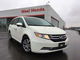 Used 2016 Honda Odyssey EX-L, Leather, Sunroof, Alloy Wheels for sale in Mississauga, ON