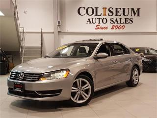 Used 2012 Volkswagen Passat COMFORTLINE-AUTO-LEATHER-SUNROOF-ONLY 73KM for sale in York, ON