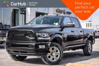 New 2018 Dodge Ram 2500 New Car Laramie 4x4|Diesel|Crew/6.3'Box|Snowplow,Sport.Pkgs|AirSusp.|Nav|Sunroof| for sale in Thornhill, ON