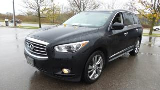 Used 2013 Infiniti JX35 3.5L V6 AWD, Leather, Moon for sale in Stratford, ON
