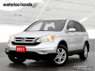 Used 2011 Honda CR-V EX-L AWD, Heated Leather and More! for sale in Waterloo, ON